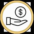 Icon amount of e and e funding