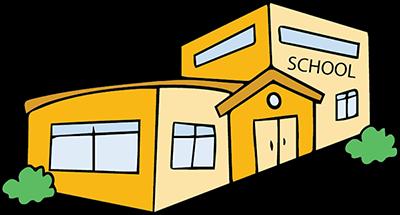 graphic of school